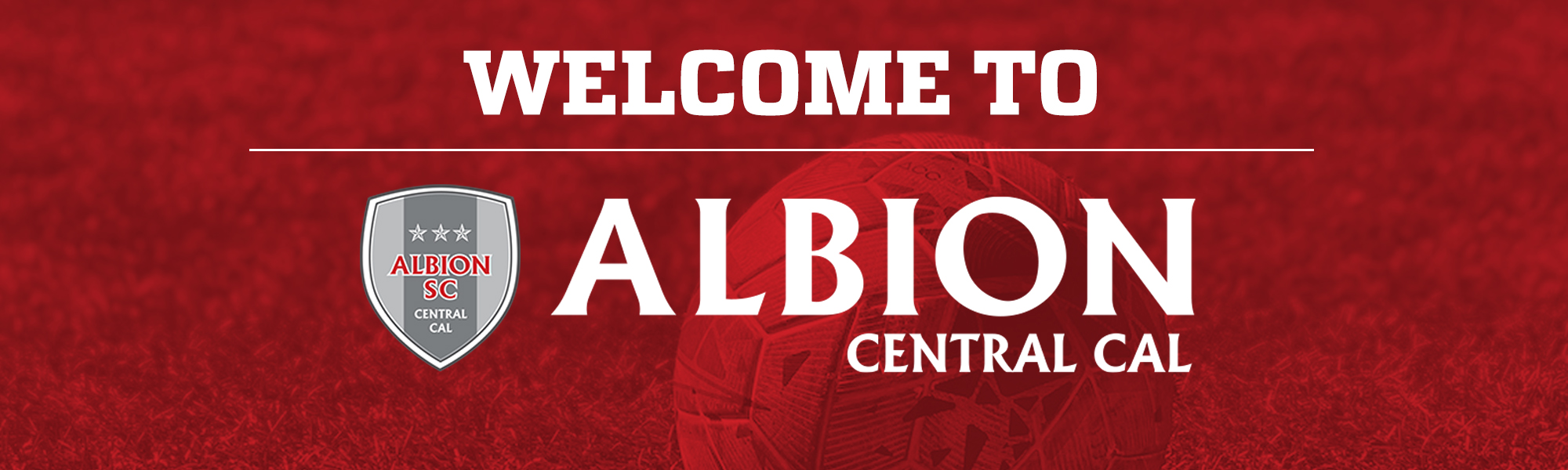 Welcome to ALBION SC Central Cal
